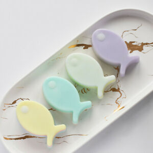 4 Cavities Cartoon Fish Flexible Silicone Soap Mold Cake Decorating Tools SoSG