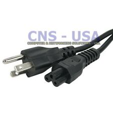 6FT 3-Prong Mickey Mouse Power Cable Power Cord for Laptop, PC, Printer, TV, LCD