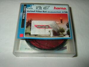 HAMA 81958 ~ Verlauf rot ~ 58 mm Effekt Filter ~ Rotfilter .. .  (F108)