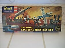 """VINTAGE Revell """"1958"""" US Army Tactical Missile Set Model 'S' Series 1/40 Scale"""