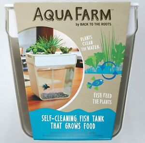 AquaFarm - Back to the Roots - 3gal. Self Cleaning Fish Tank/Aquaponics