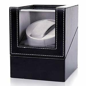Automatic Watch Winder Case, Dust-Proof, PU Leather Self-Winding
