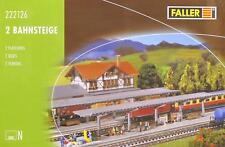 Faller 222126 N - zwei Bahnsteige NEU & OvP