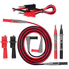 Test Lead Kit For Fluke Multimeter Tester Leads Probe Set Electronic Needle