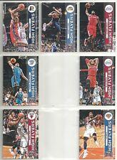 2012-13 Threads 7-card High Flyers Basketball Insert Lot  Russell Westbrook