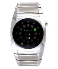 01 THE ONE LIGHTMARE LED COOL FASHION WATCH L102G2 ROUND DIAL SS BRACELET