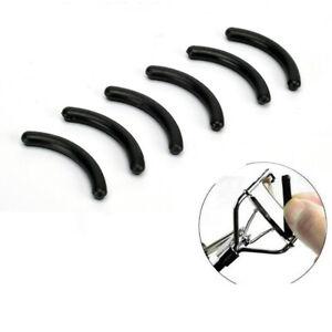 10pcs Black Rubber Refills Eyelash Curler Pads Make Up Replacement Cushion