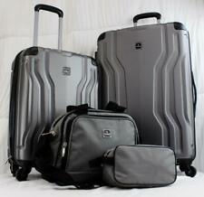 TAG LEGACY 4-PC. HARDSIDE SPINNER LUGGAGE SET GRAY **USED** 2