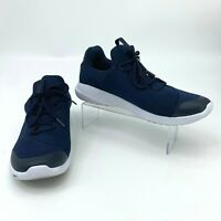 Nautica Knighton Shoes Men's Size 10.5 Dark Blue Lace Up Athletic Casual Sneaker