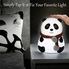 LED Night Light Panda Light USB Rechargeable Touch Sensor  Cartoon Silicone L HL