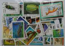 100 animals stamps in packet  (126)