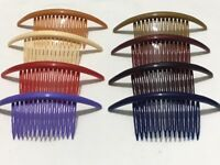 2 * 14.5 cm Long Plastic Hair Comb Hair Slide Women/Girls Head-wear Accessories