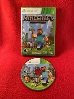 Minecraft Microsoft Xbox 360 Edition NO MANUAL 2013 USA Cleaned Tested Working
