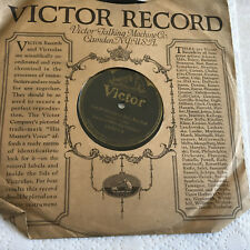 78 rpm record VIRGINIANS Bamboo Babies Grow Great White  VICTOR 20's Victrola