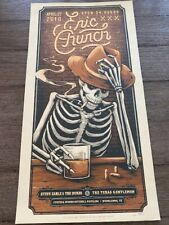 Eric Church Concert Poster - The Woodlands, Tx 4/27/18 - Signed, 48/130 - Rare!
