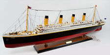 "RMS Titanic Museum Quality Handmade Cruise Ship Model 40"""