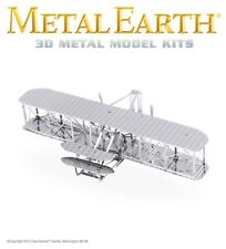 Fascinations Metal Earth Wright Brothers Airplane Laser Cut 3D Model