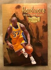 1997-98 Skybox Metal Universe Shaquille O'Neal Hardware #3 of 15h Very Rare