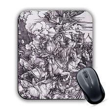 Four Horsemen of the Apocalypse Albrecht Durer Classic Art Print MOUSE MAT Pad