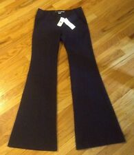 DIANE VON FURSTENBERG BIBY NAVY BLUE COTTON Stretch PANTS Sz 8 -275.00 NWT  HOT!