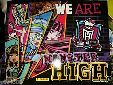 "MONSTER HIGH ""WE ARE"" ALBUM & 50 PACKETS OF STICKERS ALL BRAND NEW"