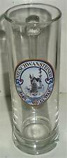 BEER DRINKING GLASS TALL NEUSCHWANSTEINER DAS ECHTE GERMAN GERMANY 0.3L