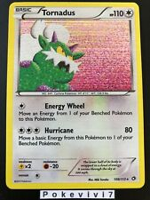 Carte Pokemon TORNADUS 108/113 Holo Noir et Blanc N&B ENGLISH