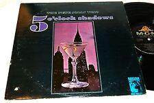 "PETE JOLLY TRIO 5 O'Clock Shadows 12"" Vinyl LP MGM SE-4127 ~c"
