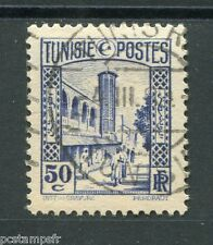 TUNISIE 1931-33, timbre 171, MOSQUEE HALFAOUINE, oblitéré, VF stamp