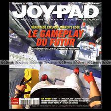 JOYPAD N°182 MIRROR'S EDGE STREET FIGHTER IV ROCK BAND SUPER NINTENDO 2008