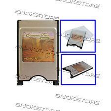 LETTORE COMPACT FLASH CARD CF TO PCMCIA CARD READER FOR NOTEBOOK LAPTOP PC