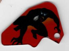 SPIDER-MAN PINBALL Promo Plastic Key Chain FOB BLACK SPIDERMAN 2007 STERN