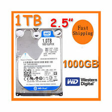 "NEW 1TB 1 TB 2.5"" WD WD10JPVX SATA 9.5mm Hard Drive Disk 1000GB PS3/PS4 MAC"