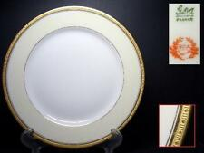 GDA LIMOGES CHAS FIELD HAVILAND BREAD PLATE [5] - GOLD ENCRUSTED