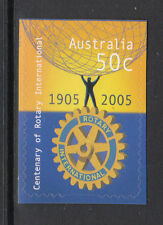 2005 Centenary Of Rotary International  - Booklet Stamp