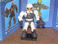 Mega Bloks 96978 HALO Series 4 ARCTIC UNSC PILOT  Micro Figure with gun