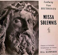 KLEMPERER/VIENNE missa solemnis BEETHOVEN LP RARE VG++