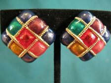 Premier Earrings Multiple Colored made in USA
