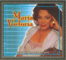 Maria Victoria CD NEW Tesoros De Coleccion BOX SET Con 3 CDs 30 Canciones !