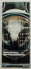 HARLEY DAVIDSON V TWIN Motorcycles Sales Brochure 1981 FLH80 FLHC80 FLT80 FXE80