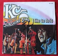 KC and the Sunshine band, i like to do it / come on in, SP - 45 tours