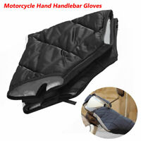 Winter Motorcycle Handlebar Gloves Hand Thermal Sponge with Reflective Strip