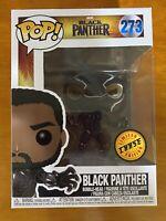 Funko Pop! Black Panther Marvel #273 Chase T'Challa MCU Chadwick Boseman