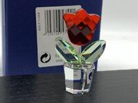Figurine Swarovski 657109 Fleur / Pot de Fleurs 5 Cm. avec Emballage D'Origine &