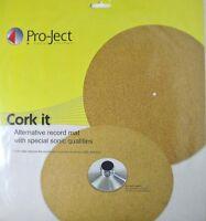 Pro-Ject  Cork it - Panno in Sughero Smorza Vibrazioni per tutti i Giradischi