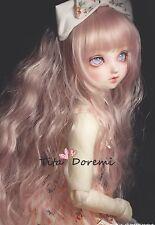 Bjd Doll Parrucca 1/3 8-9 Dal Pullip AOD DZ AE SD DOD LUTS Dollfie pink Hair Toy