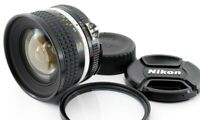 Near Mint Nikon Nikkor Ai-S 20mm F/2.8 Wide Angle Prime MF Lens w/cap from Japan