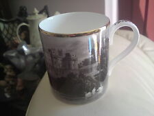 Buckingham Palace Fine Bone China mug, west front 1831, from a engraving, VGC
