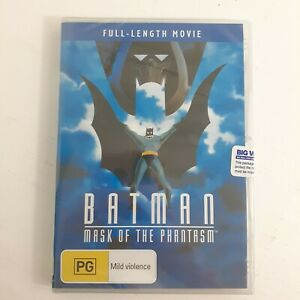 Batman : Mask Of The Phantasm DVD Movie FULL LENGTH DC Comics New & Sealed R4