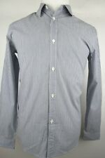 APC Rue Madame Paris Shirt Long Sleeve Pinstripes Men Size S